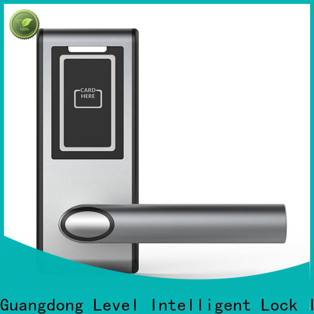 New hotel door lock system software door directly price for guesthouse