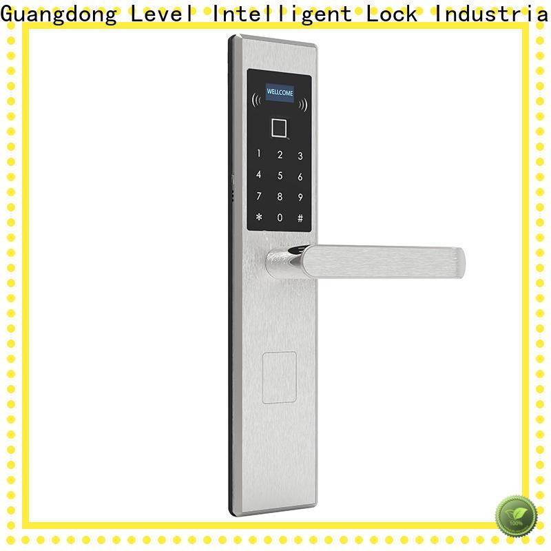 Level Custom remote locks for home supplier for residential