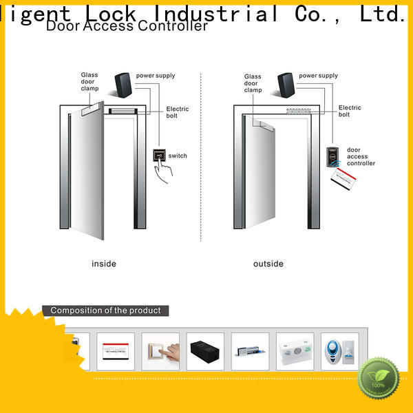 Level door hotel door access card system wholesale for office