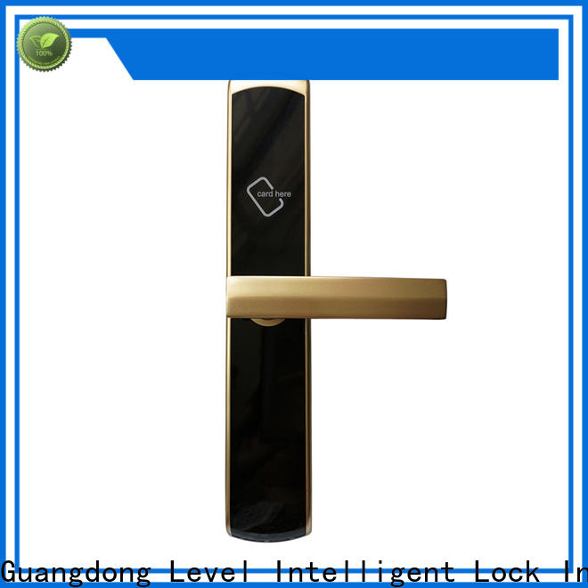Level high quality hotel door promotion for hotel