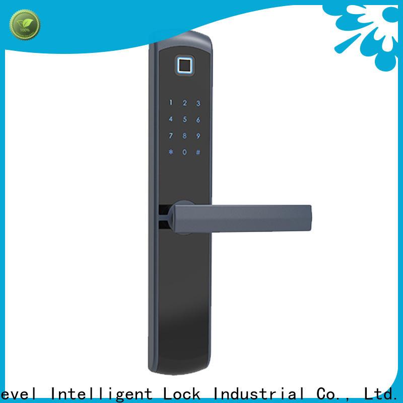 Level keyless digital door factory price for apartment