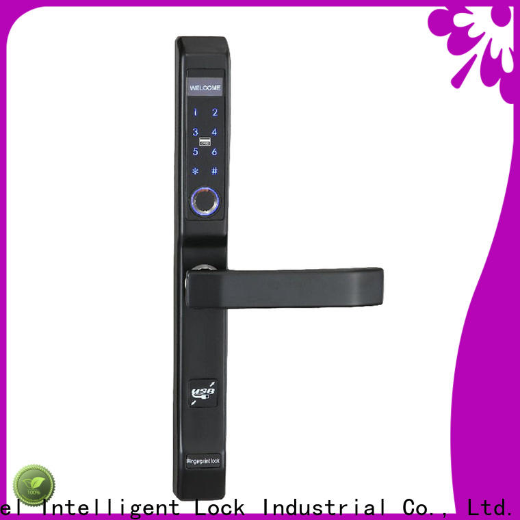 Level aluminum number keypad door lock factory price for home