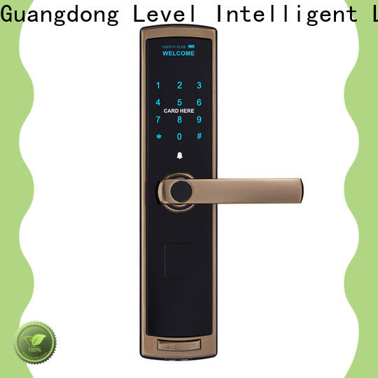 Level high quality numeric keypad door lock on sale for residential
