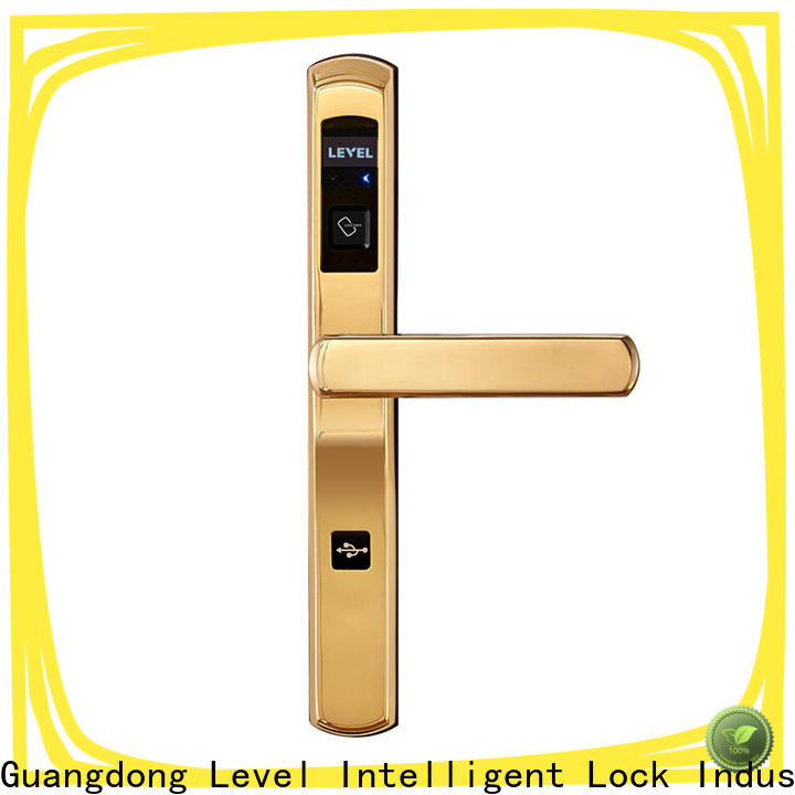 Latest lock hotel door hotel directly price for hotel