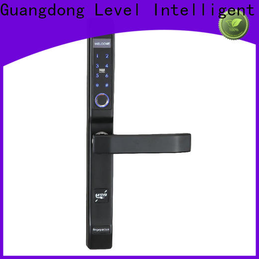 Level fashion door lock entry system supplier for apartment