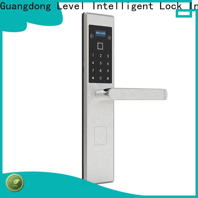 Level rfid electronic keyless door lock set supplier for residential