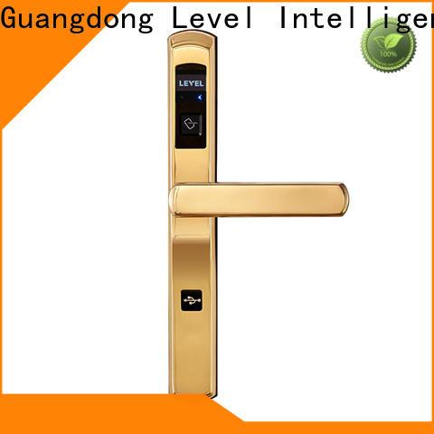 Level room rf door lock wholesale for apartment