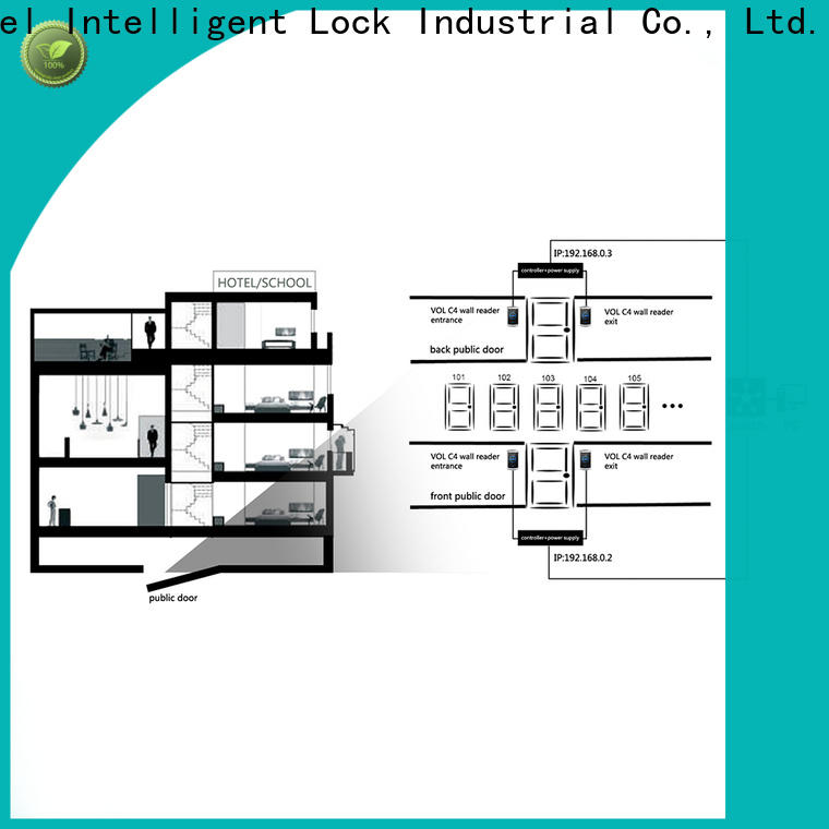 Level lock single door card access Suppliers for Villa