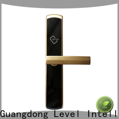 Level practical hotel key card door entry systems promotion for lodging house