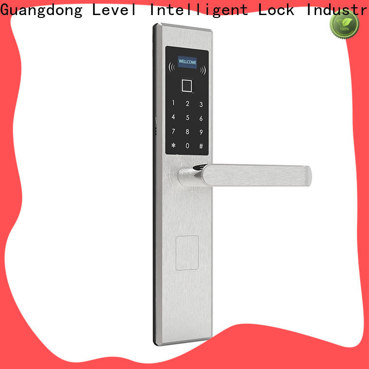 Level High-quality touch key door locks on sale for apartment