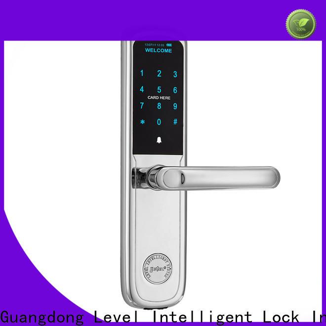 Level Custom electronic exterior door locks wholesale for Villa