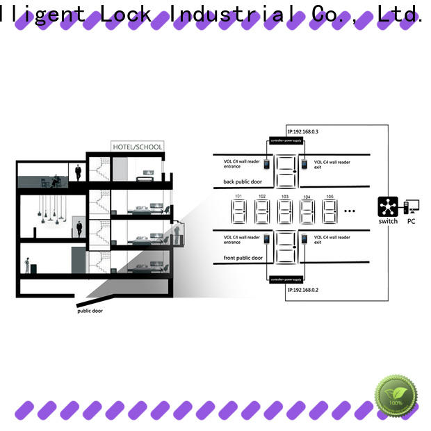 Level lock access control system limited factory price for Villa