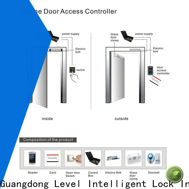 Level door rfid based door access control system wholesale for lodging house