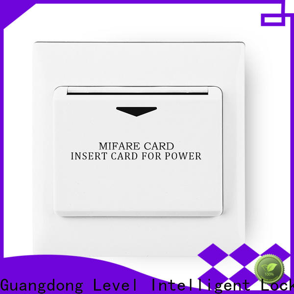 Level level 3 phase start stop switch promotion for apartment