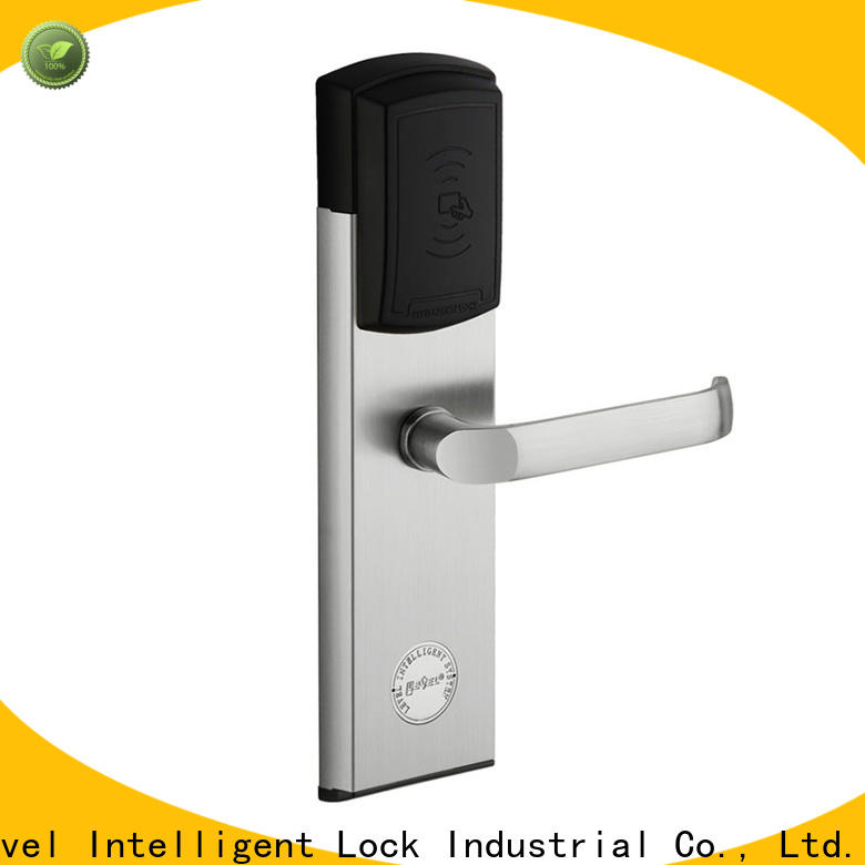 Level practical hotel room card access system directly price for hotel