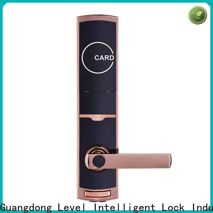 Level steel hotel door lock hack promotion for apartment