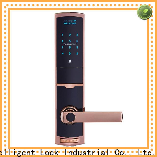 Level aluminum exterior keypad gate lock supplier for residential
