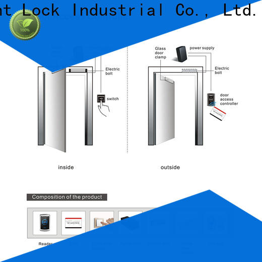 adjustable commercial rfid door lock door manufacturer for apartment