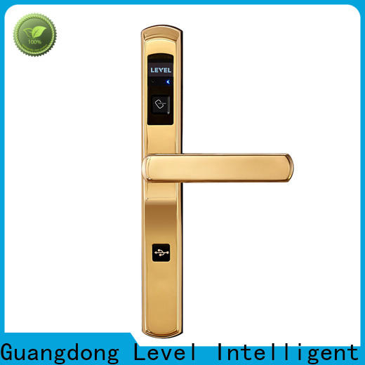 Level slim vingcard hotel lock system supplier for apartment