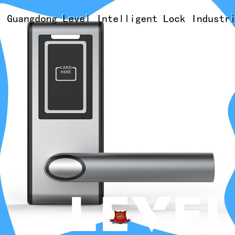 material hotel door locks wholesale for lodging house Level