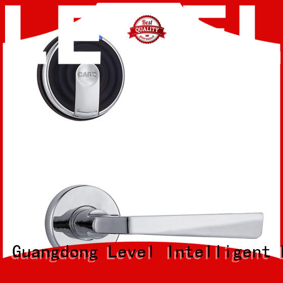 Level technical smart card lock directly price for Villa