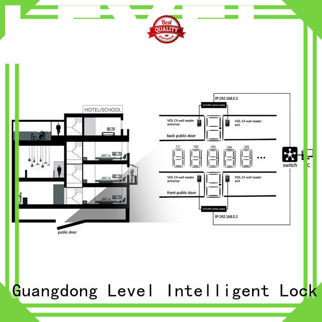 Level vol Level virtual online lock system on sale for hotel