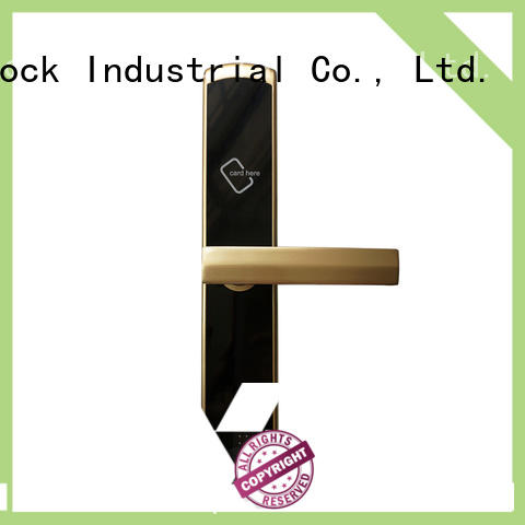 Level lock key card door lock for hotels promotion for Villa