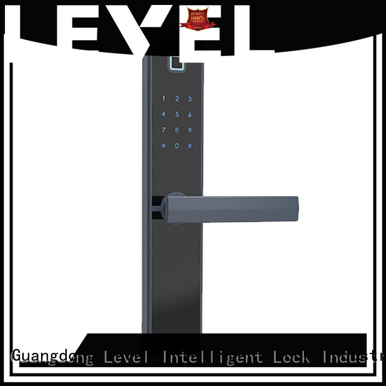 Level fashion smart card lock supplier for home