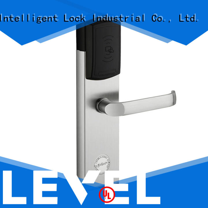 Level security hotel door locks supplier for guesthouse