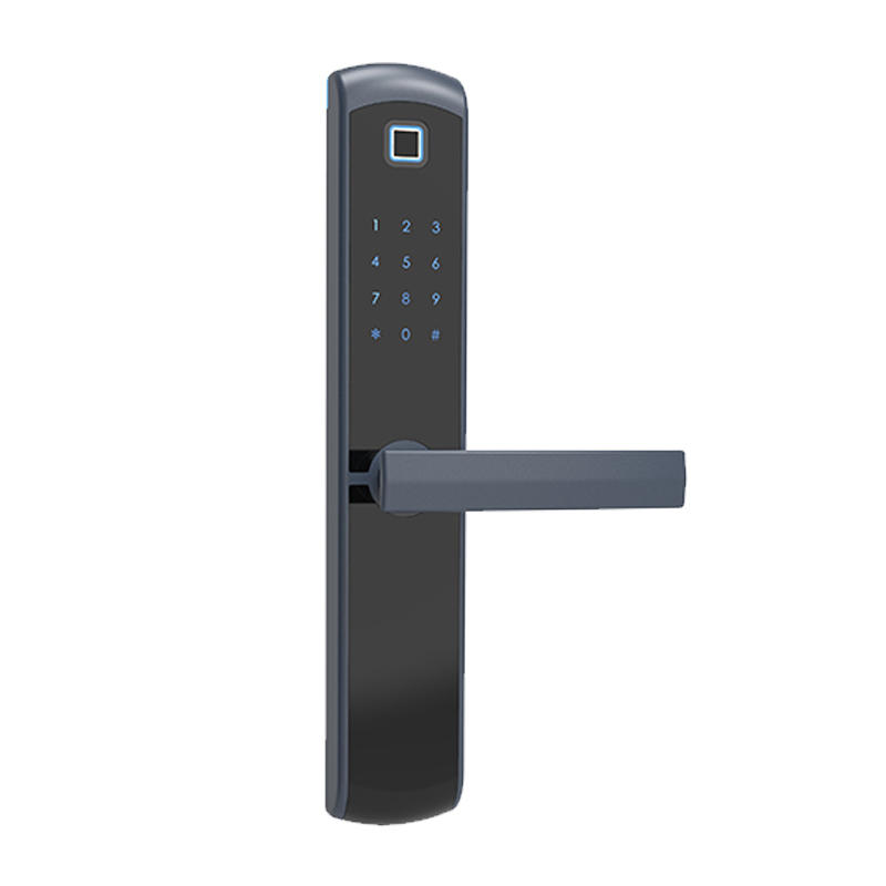 Smart card fingerprint digital lock aluminum alloy material for home MDT-1320