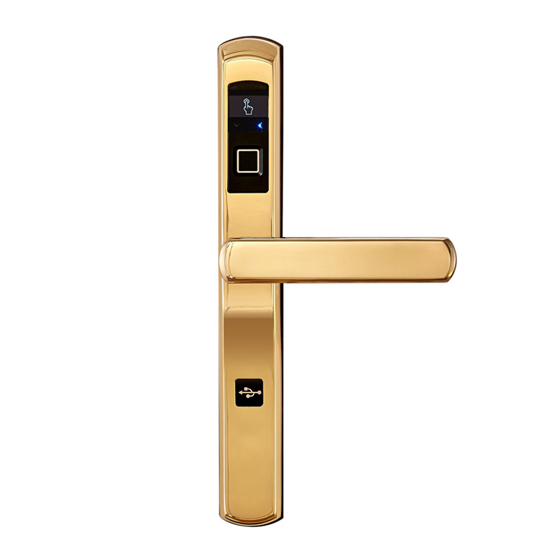 Level alloy electronic door lever factory price for home-1