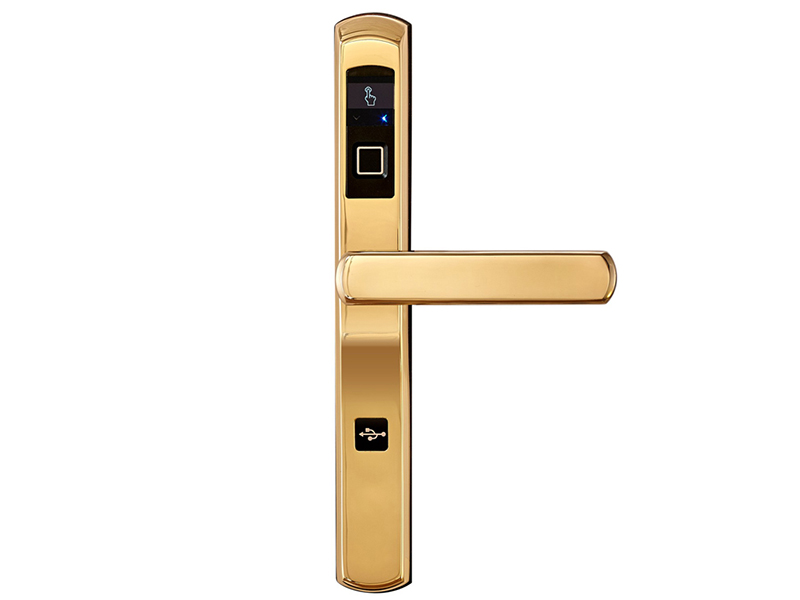 Level alloy electronic door lever factory price for home-3