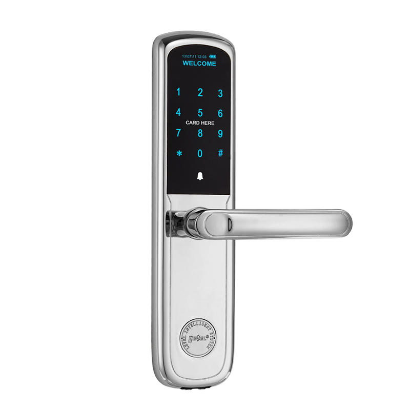 Home and office electronic lock with password and MF1 card TDT-1550