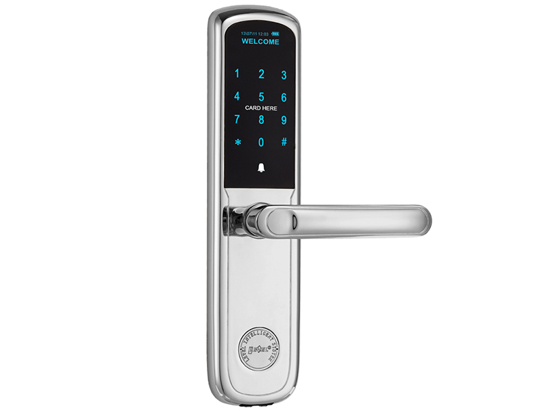 Level Custom electronic front door handles factory price for apartment-3