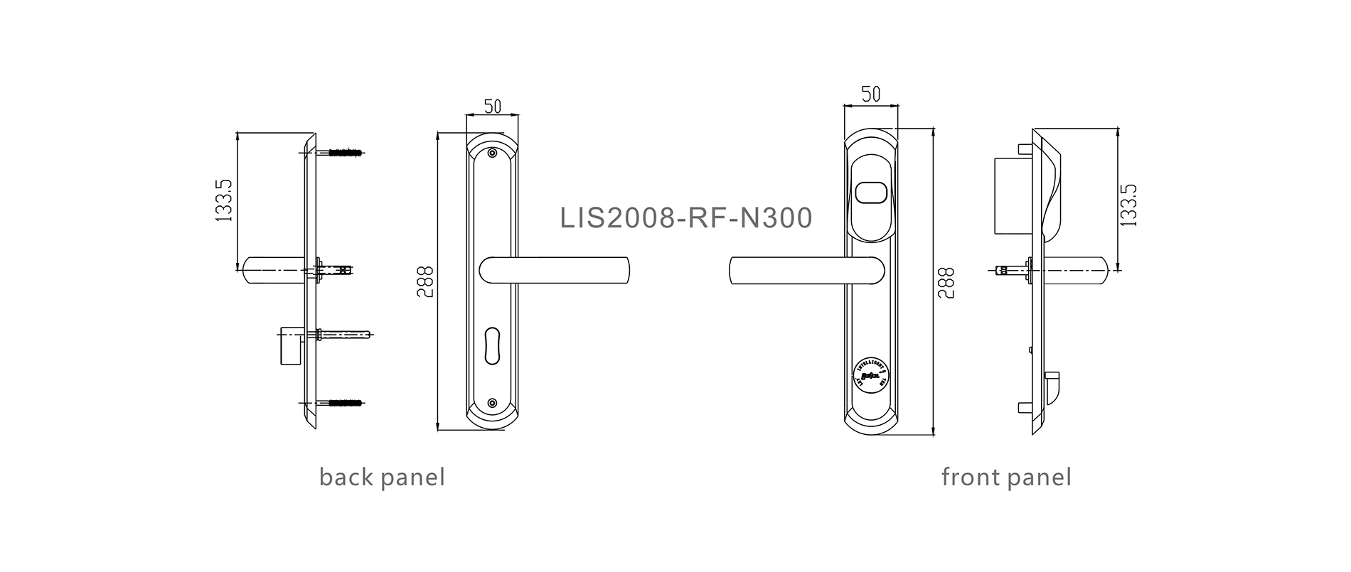 Level split hotel safe lock wholesale for Villa-4
