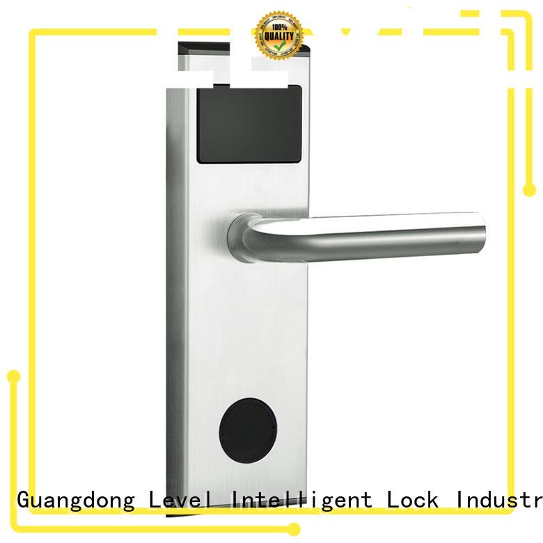Level technical key card door lock for hotels rf1320 for hotel
