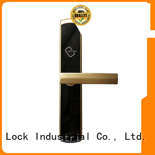 Level zinc rfid hotel door locks supplier for lodging house