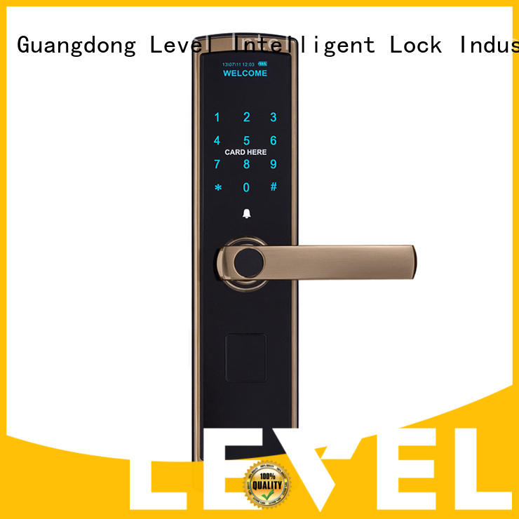 Level security code door lock touch for residential