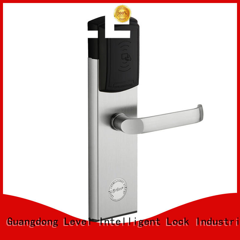 Level technical rfid hotel lock stainless for hotel