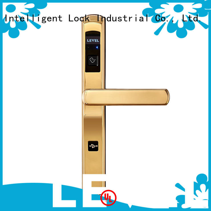 Level luxury intelligent lock supplier for guesthouse