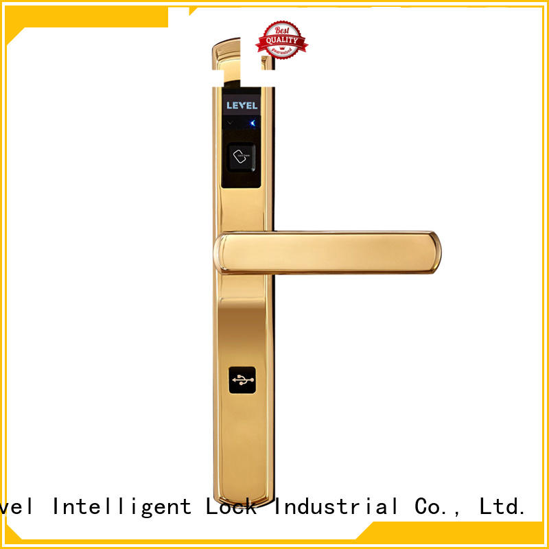 Level high quality hotel lock wholesale for guesthouse