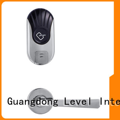 Level practical electronic door locks hotel key for guesthouse