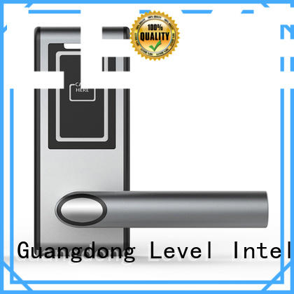 Level smart rfid card lock wholesale for apartment