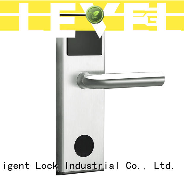 Level practical rfid hotel door locks supplier for guesthouse