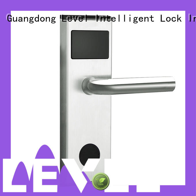 Level high quality electronic door locks hotel intelligent for apartment