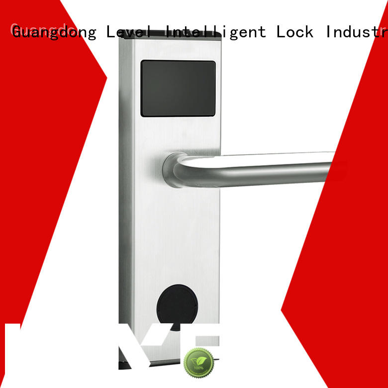 Level security rfid hotel door locks promotion for apartment