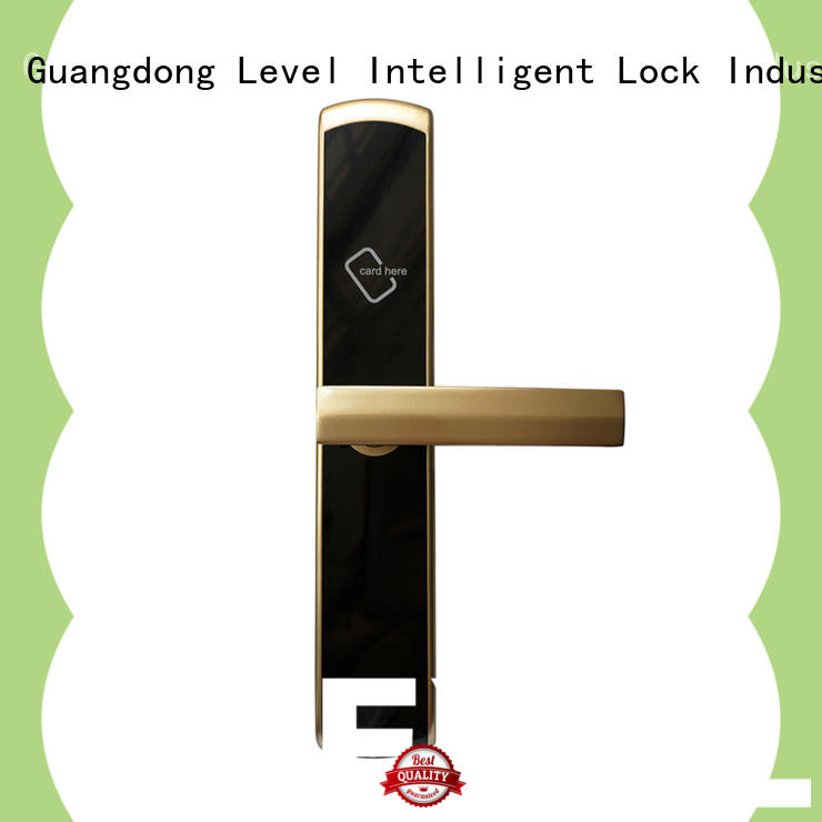Level pieces hotel door locks wholesale for guesthouse