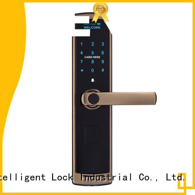 Level material electronic door locks for homes supplier for Villa