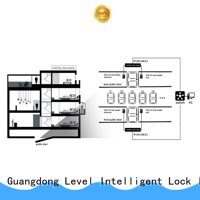 Level virtual Level virtual online lock system wholesale for hotel