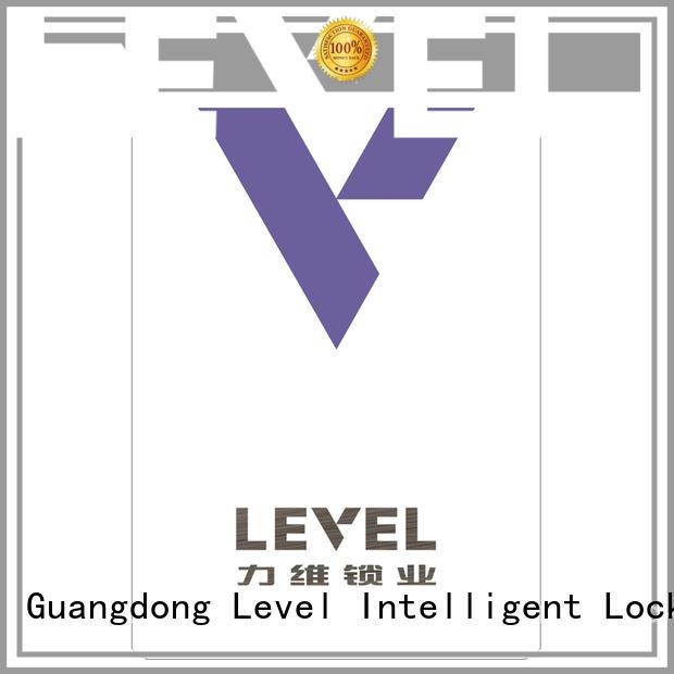 Level technical hotel door lock system supplier for Villa